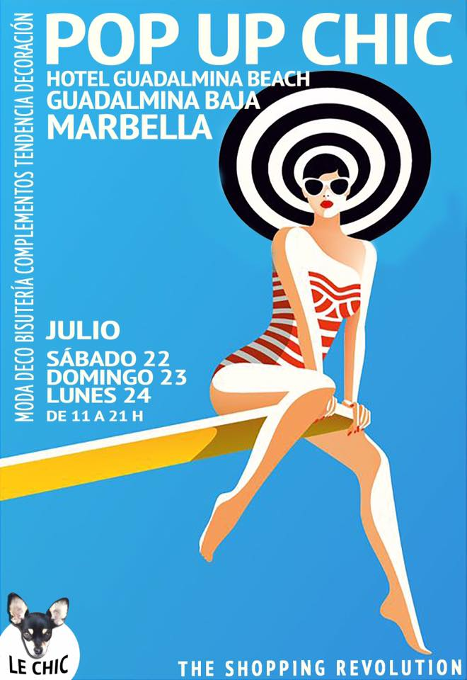 Pop Up Chic en Marbella!