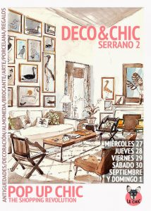 pop up market decoracion chic