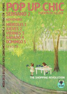 del 1 al 5 de Noviembre, shopping en madrid