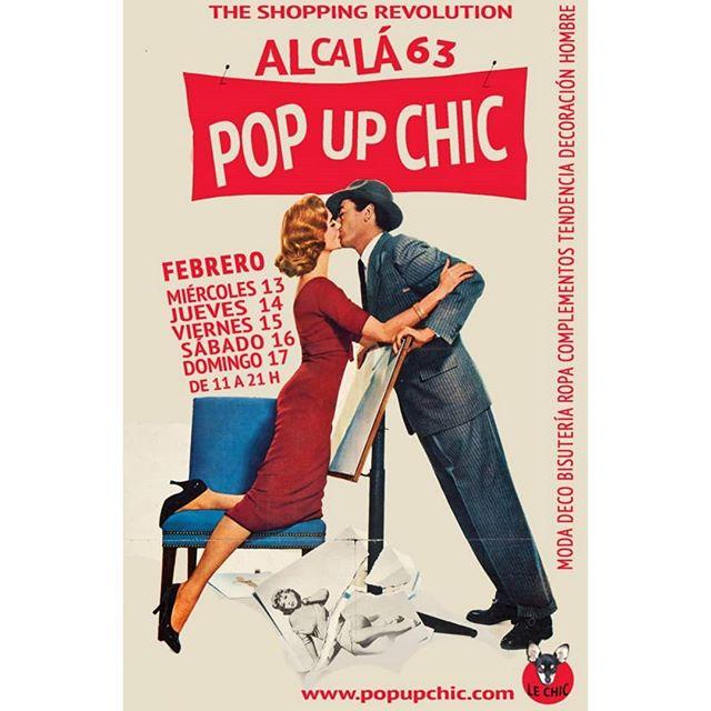 Presentación oficial del nuevo cartel para inaugurar #Alcalá63  Apúntate bien las fechas! _____#popup #chic #evento #inauguracion #moda #madrid #openday